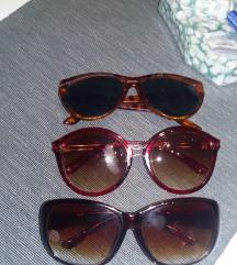 Troje sunčane naočale
