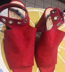 Sandale crvene 40