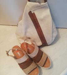 Lot ruksak i sandale
