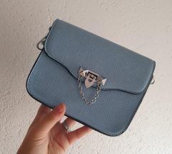 Baby blue torbica