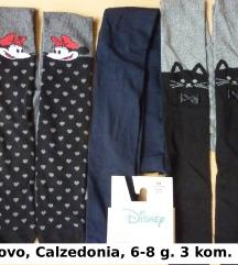 Calzedonia Disney čarape štramplice, 6-8 g. 122/