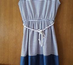 Mornarska ljetna haljina