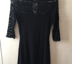 Cipkana crna haljina S,S/M