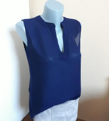 Tamnoplava bluza