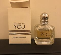 Armani parfem Because it's you 50 ml - original