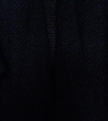 Ženska crno-svjetlucava vesta