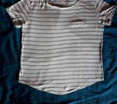 H&M basic pamucna bijela majica