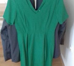 Povoljno - zelena haljina H&M