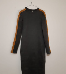 uska siva haljina