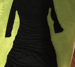 Crna rastezljiva haljina vel.s