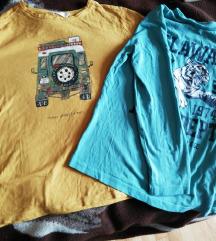 2 majice 152, dugih rukava za dečka