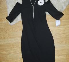Novo crna haljina
