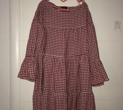 Zara haljina karirana