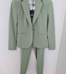 Zara odijelo mint zeleno vel. XS