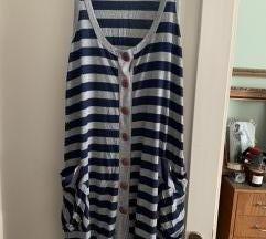 Topshop prugasta haljina