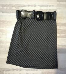 Predivna suknja sa remenom, NOVO, M
