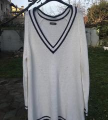 Bijela Over Sized vesta