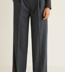 Mango poslovne hlače s etiketom