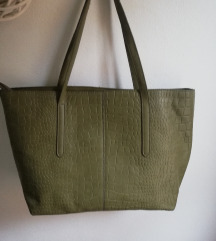 Shopper torba nova zelena