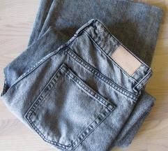 ZARA traper hlače širokih nogavica vel. 36