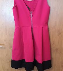 STRADIVARIUS roza haljina