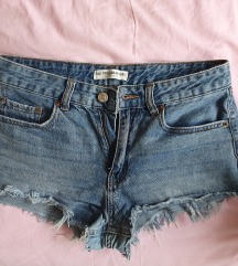 Pull&Bear jeans kratke hlačice