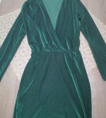 ZARA plišana haljina
