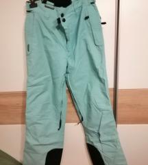 svjetlo plave skijaške hlače