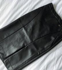 MOHITO kožna suknja, s etiketom