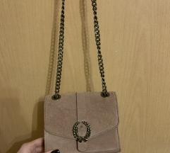 Zara torbica- brušena koža