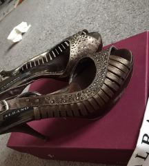 Albano cipele sa Swarovski kristalima