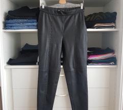 %%%  Zara kožne hlače