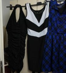 3 haljine XS/S lot
