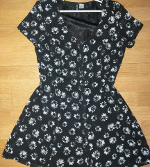 H&M haljina na kopčanje uzduž