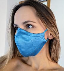 Maska Turquoise Blue COVER dvoslojna ŽENSKA