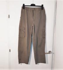 🌞 Cargo široke hlače L