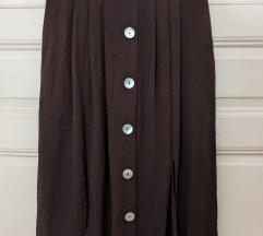 Reserved midi suknja