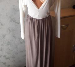 Dugačka haljina nosiva na dva načina