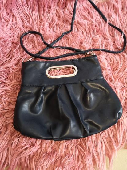 Tamno plava torbica