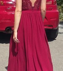 Svečana haljina otvorenih leđa