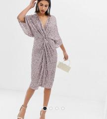 Asos sequin kimono dress