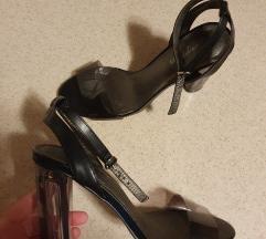 Sandale sa transparent petom