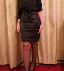 Kožna suknja, nova S veličina