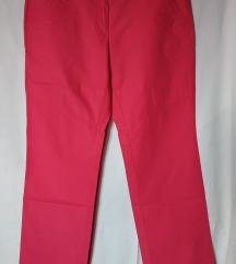 Pink roze hlače ravnih nogavica 42 44