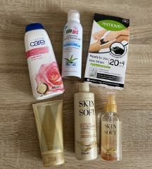 Set novih proizvoda za njegu tijela