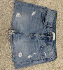 Zara kratke traper hlačice