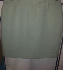 Sivo-svijetlo plava mini suknjica