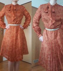 Vintage cvjetna haljina - sniženo 50kn