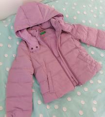 Benetton zimska jakna 6-7 god, 120 cm