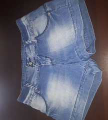 Jeans hlačice